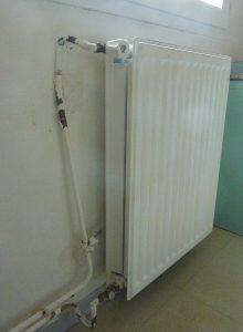"""Etat d'un radiateur """"accidenté"""""""