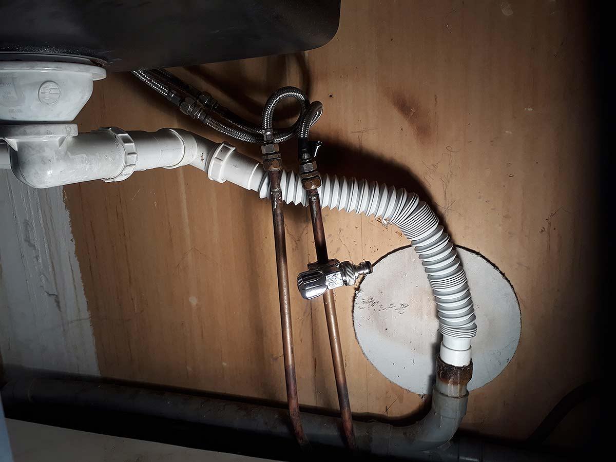 Plomberie de bric et de broc